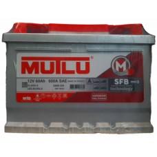 Аккумулятор 6ст-60 а.ч. MUTLU